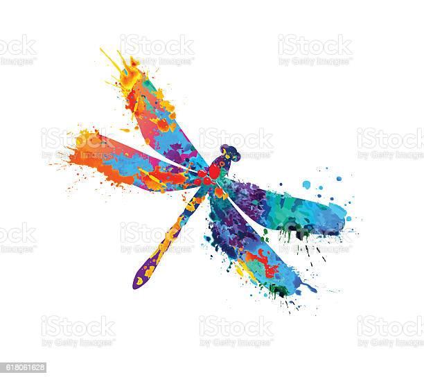 Dragonfly of splash paint vector id618061628?b=1&k=6&m=618061628&s=612x612&h=w n rpzd6q4a6ls2uvqgh uasawmabad 0subeopa g=