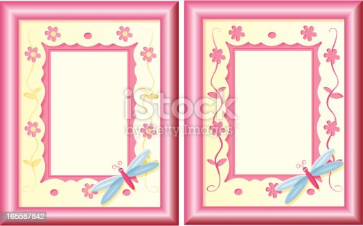 istock Dragonfly photoframe (vertical) 165587842