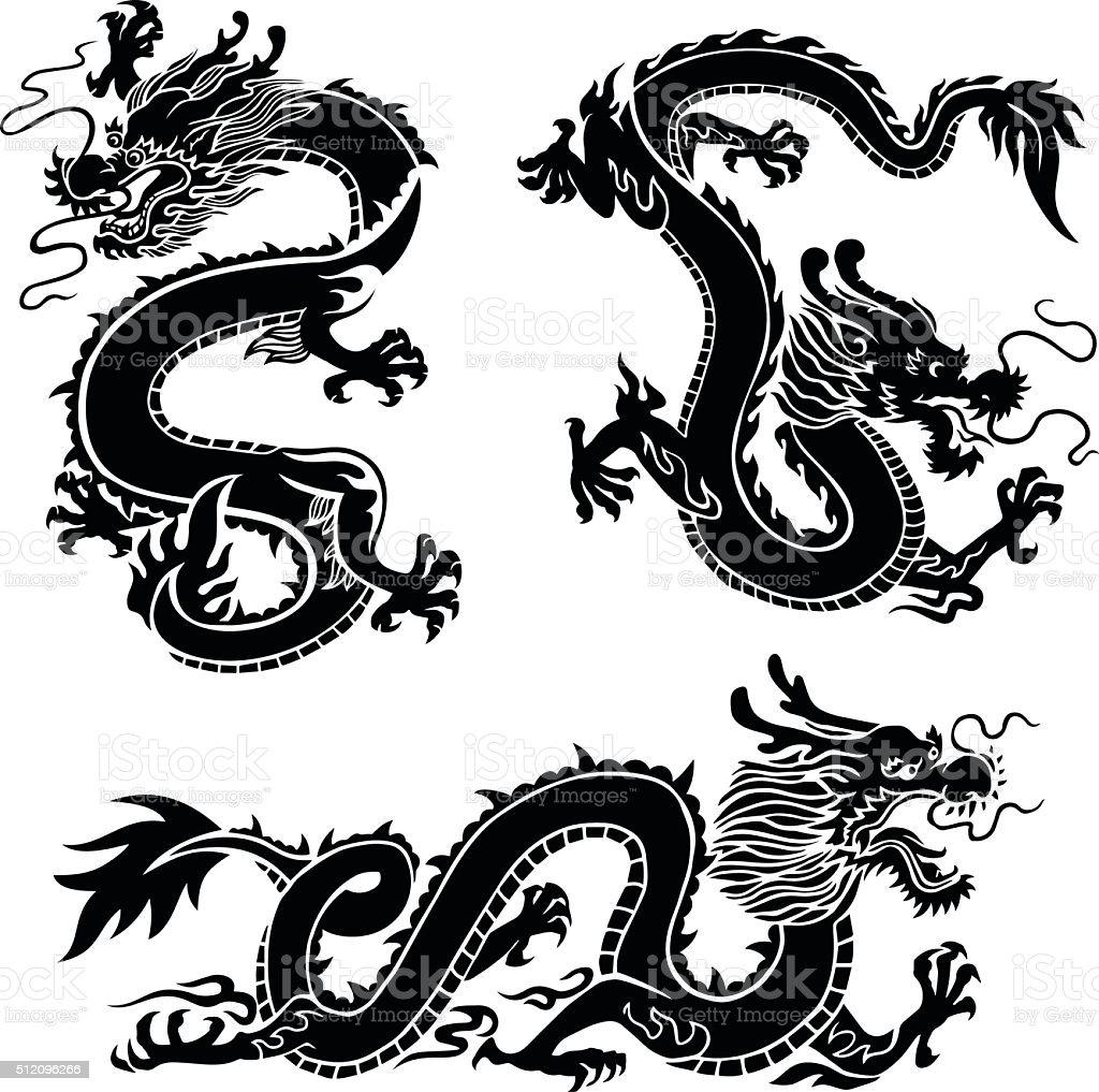 ドラゴン ベクターアートイラスト