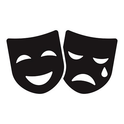 Drama Class Education Glyph Icon