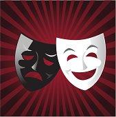 Drama theater Mask