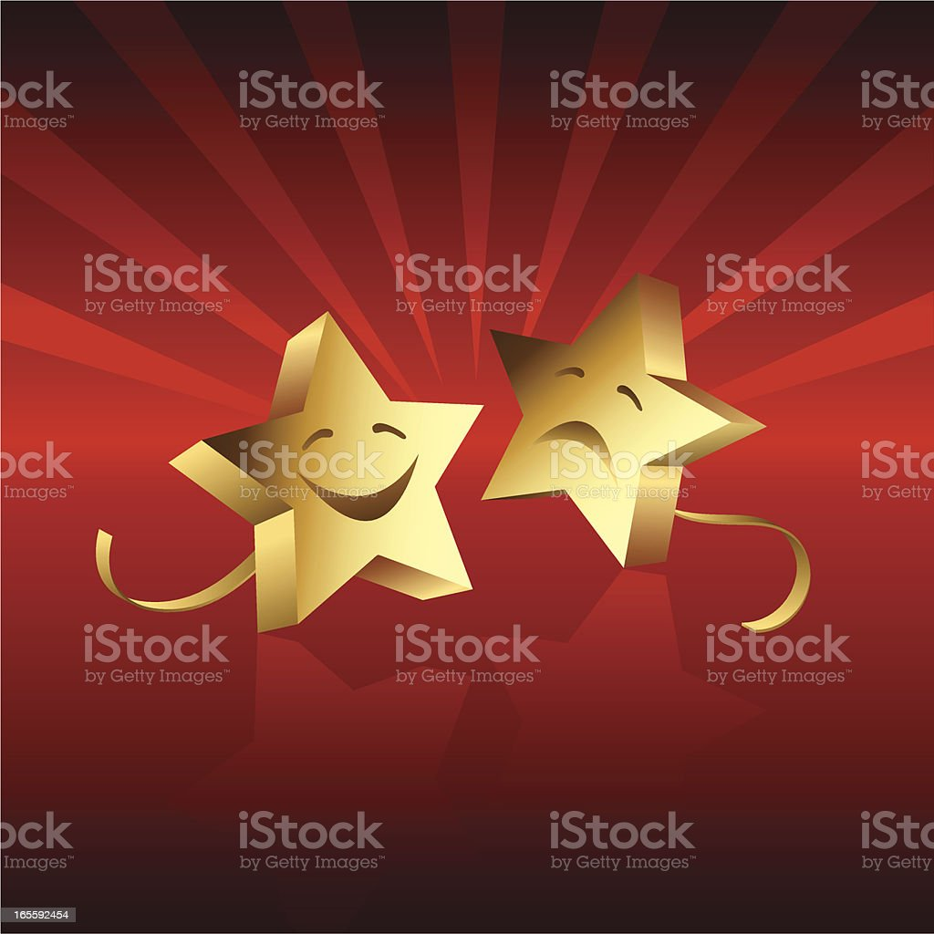 Drama royalty-free stock vector art