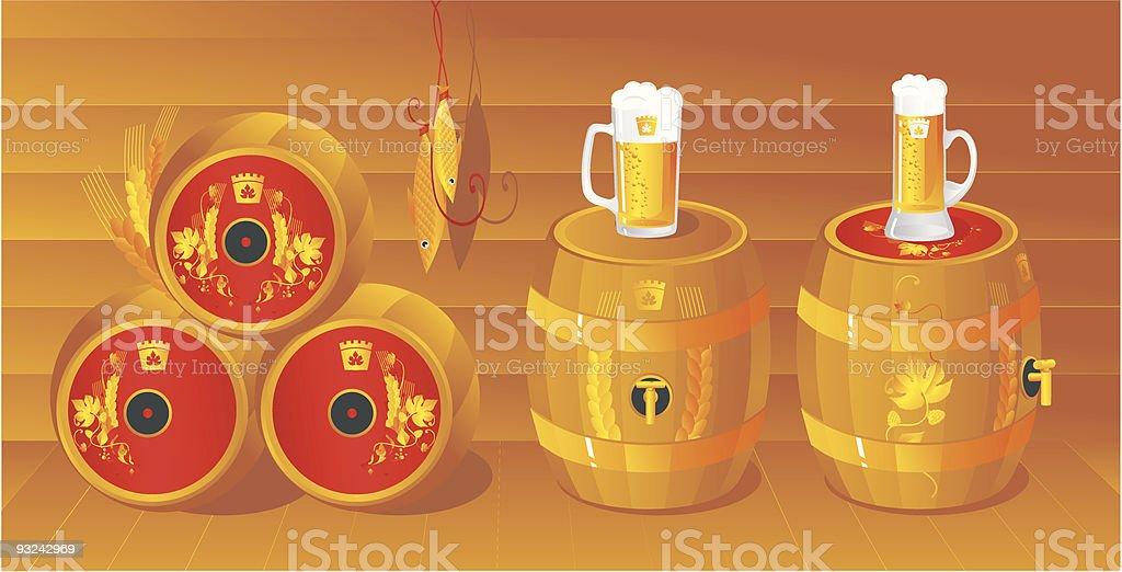 Draught royalty-free stock vector art