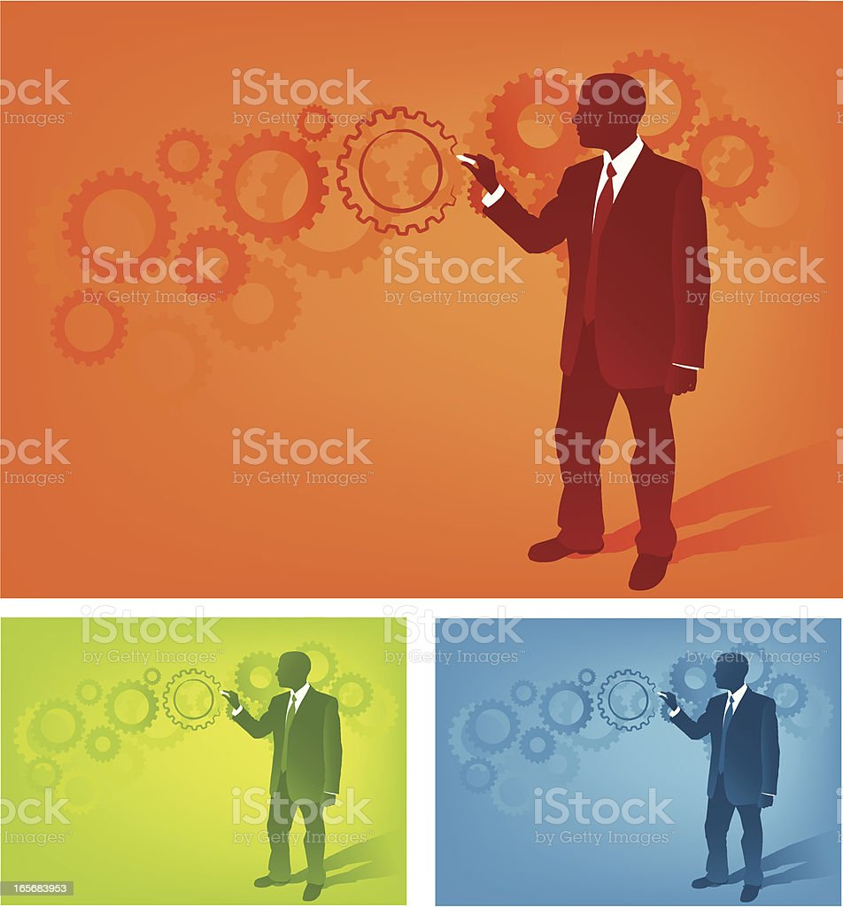 Draw the Solution royalty-free stock vector art