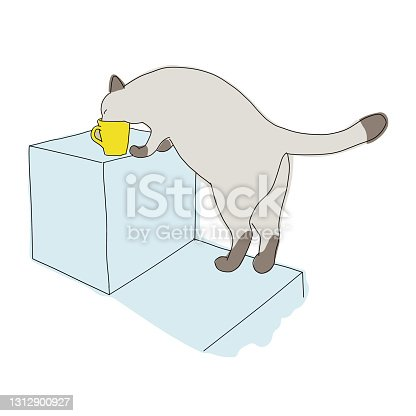 istock drawing art product of a cat 1312900927