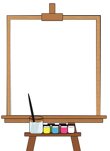 Drawing Board Stock Illustration - Download Image Now