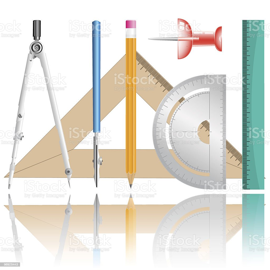 drawing instrument royalty-free drawing instrument stock vector art & more images of accuracy