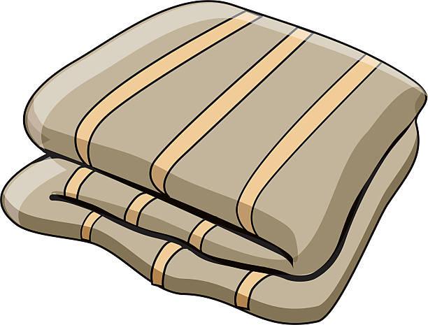 Best Folded Blanket Illustrations, Royalty-Free Vector ...