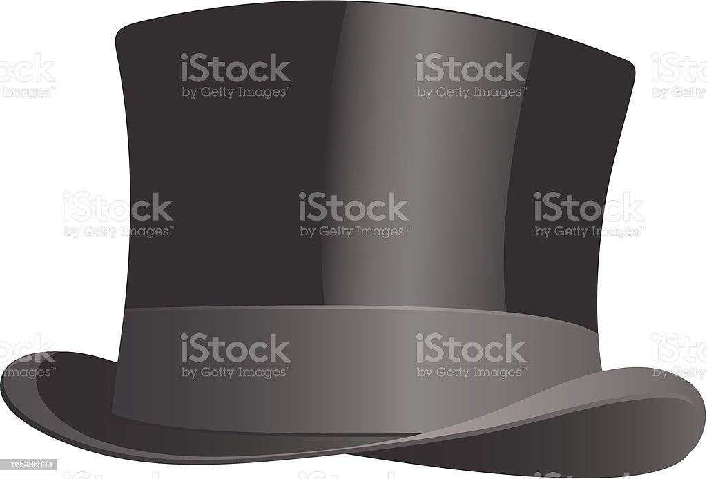 Sombrero de copa ilustración de sombrero de copa y más banco de imágenes de  1940-. Sólo contenido iStock 7b3cab9ad9d