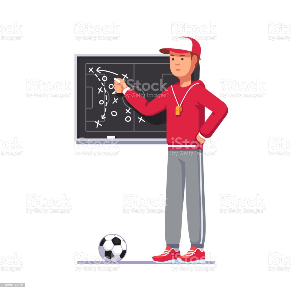 Royalty Free Football Coach Clip Art Vector Images Illustrations
