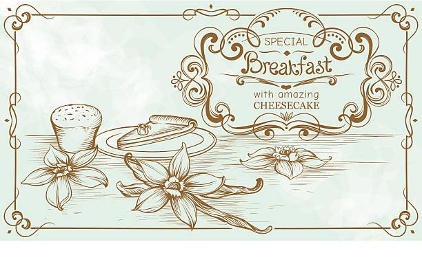 zeichnung vintage bäckerei banner auf - winkelküche stock-grafiken, -clipart, -cartoons und -symbole
