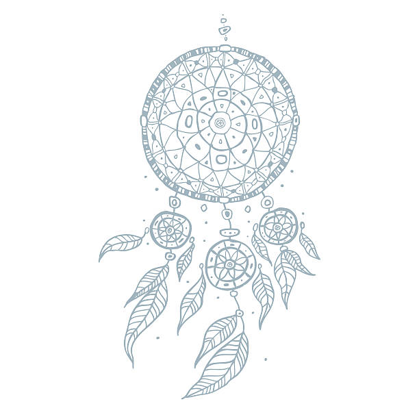 Best Dreamcatcher Illustrations Royalty Free Vector