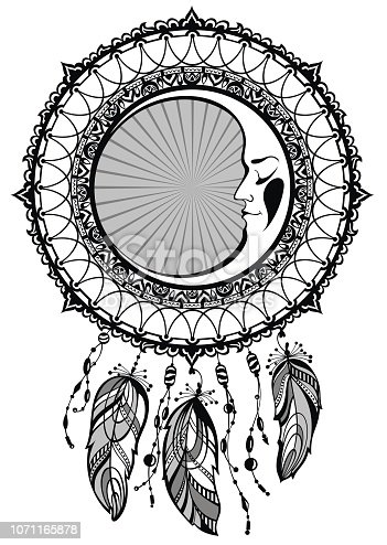 istock Atrapasueños 1071165878 istock Atrapasueños, ilustración ...