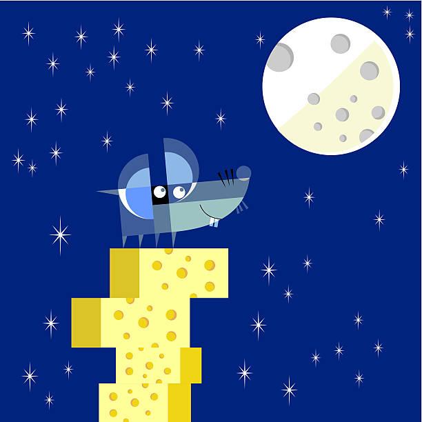 ilustraciones, imágenes clip art, dibujos animados e iconos de stock de dreamer ratón - tintanegra00