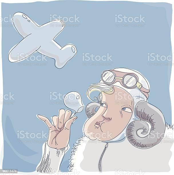 Dreams Of Flying-vektorgrafik och fler bilder på Blåsa - Använda munnen