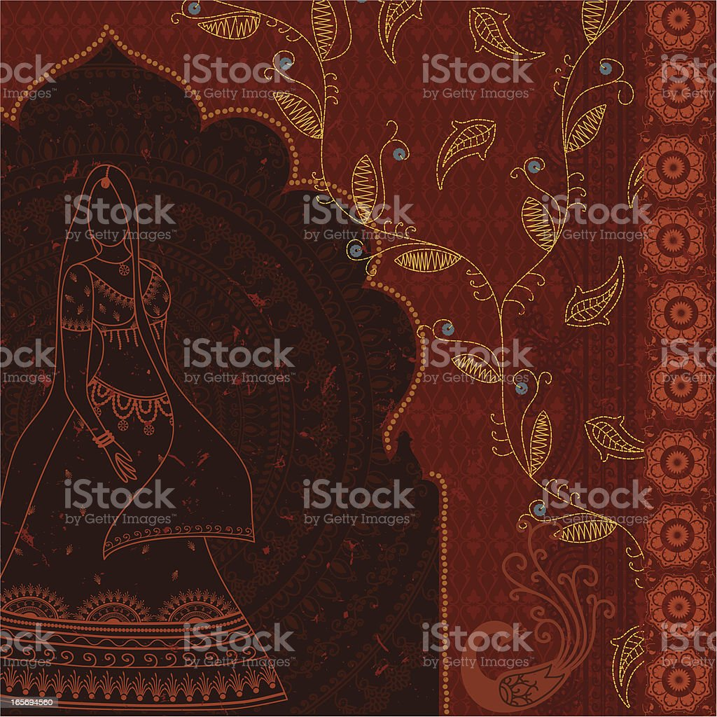 Dreamscape - Red Arch royalty-free dreamscape red arch stock vector art & more images of adult