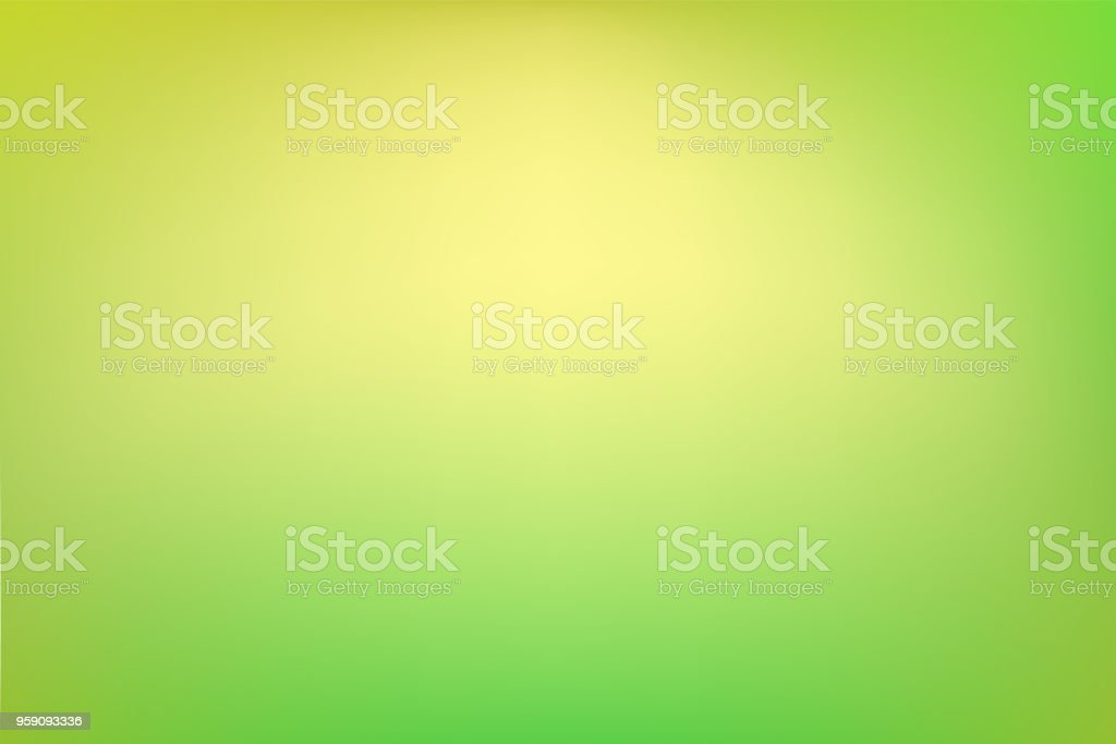 Dreamy abstract green background vector art illustration