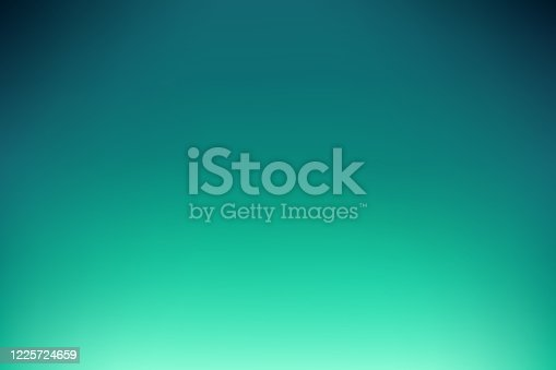 Dreamy smooth abstract blue-green background