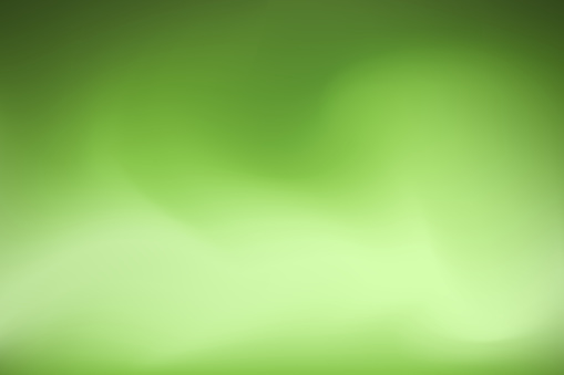 Dreamy smooth abstract green background