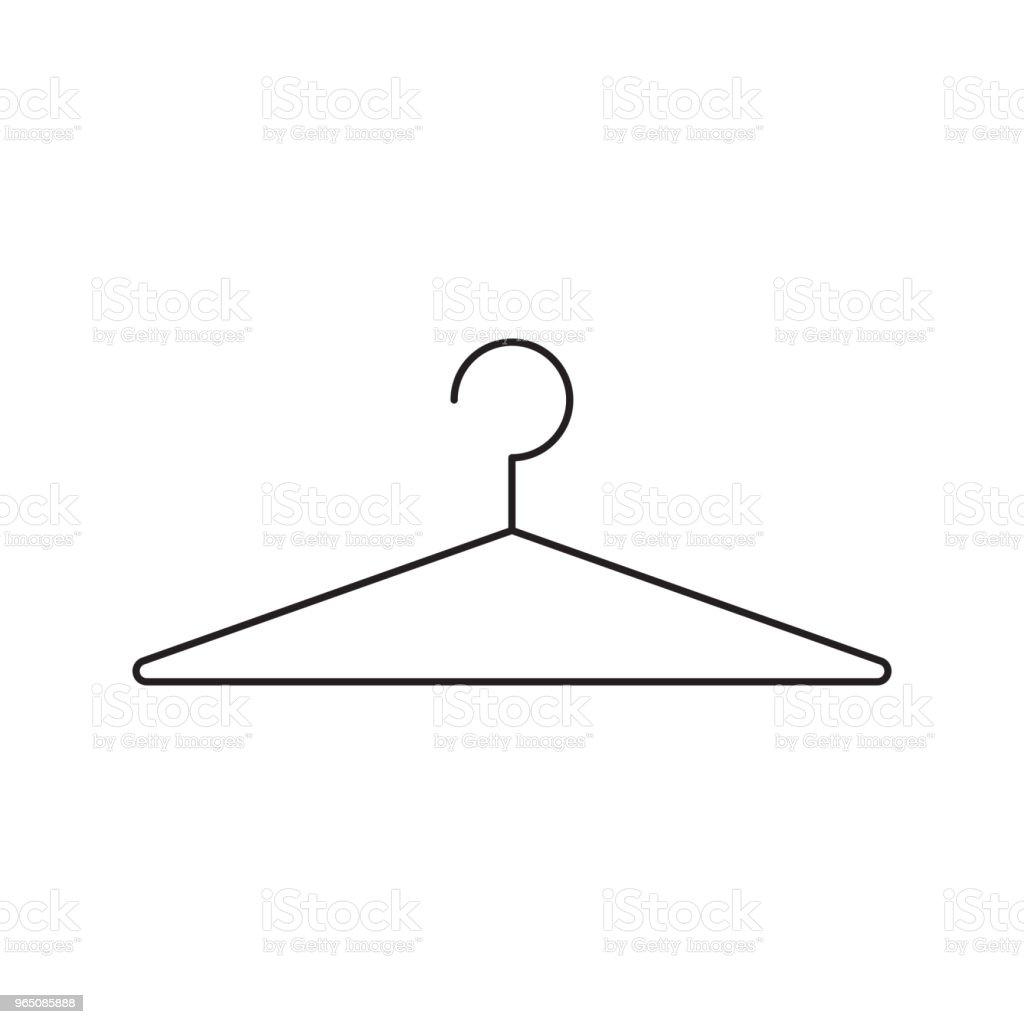 dress hanger icon royalty-free dress hanger icon stock vector art & more images of azerbaijan