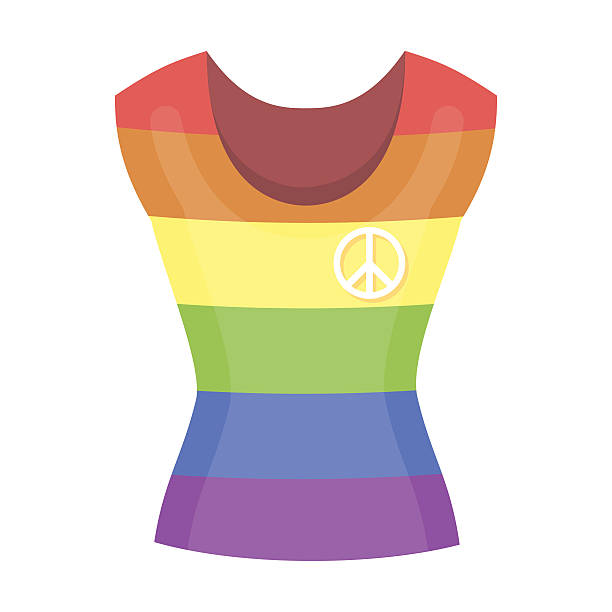 dress icon cartoon. single gay icon from the big minority, - minority stock illustrations, clip art, cartoons, & icons