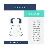 istock Dress Icon 1323015407