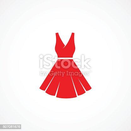 istock Dress Icon 507081676