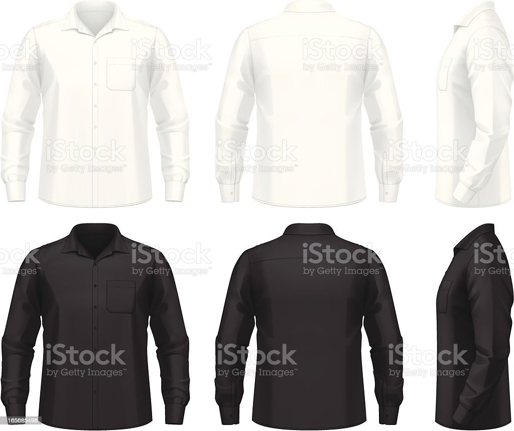 Dress shirt royalty-free dress shirt stock vector art & more images of adult