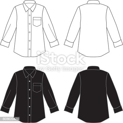 istock Dress Shirts 503620470