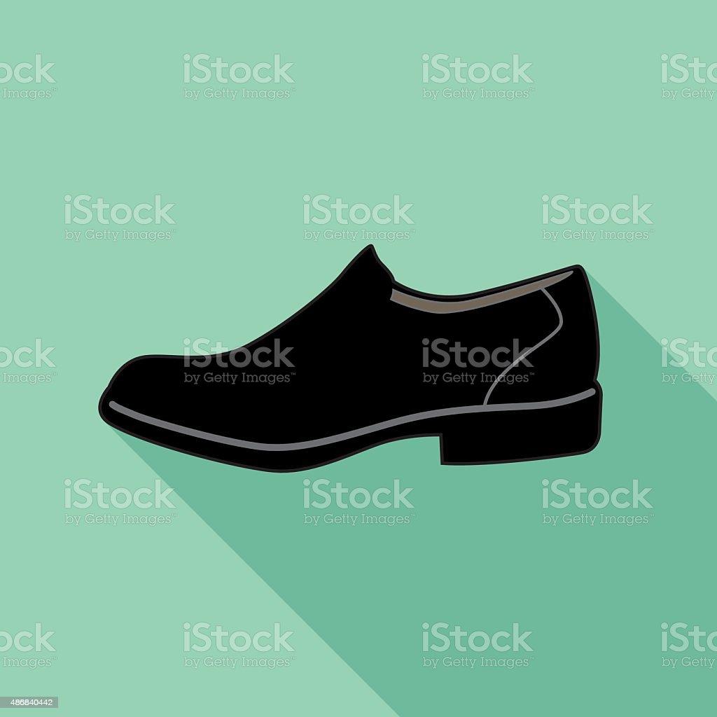 e75199cd31d Zapato de vestir icono illustracion libre de derechos libre de derechos