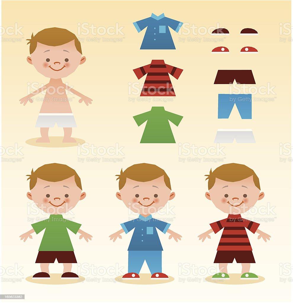 Kleid für kid – Vektorgrafik
