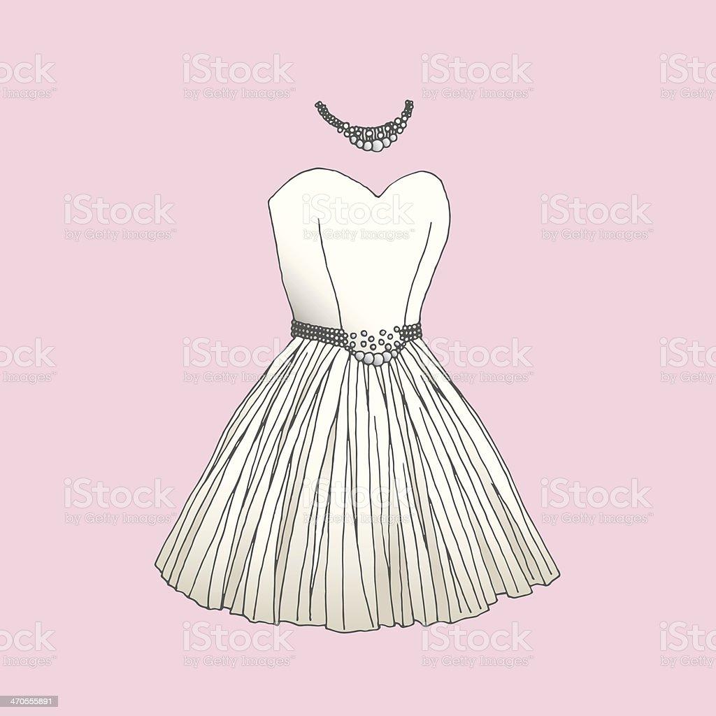 dress royalty-free stock vector art