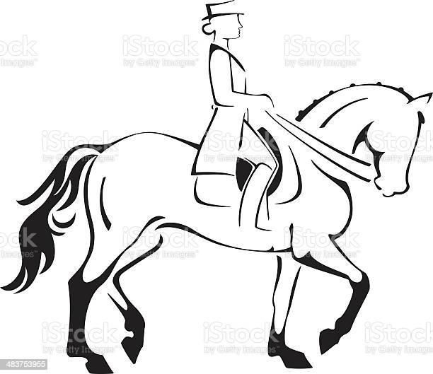 Dressage horse rider line art vector id483753955?b=1&k=6&m=483753955&s=612x612&h=gaeaetrgmjysv3g4exwsgfknzzr 4twq oufzhwnqwu=
