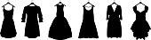 Dresses - Illustration Silhouette