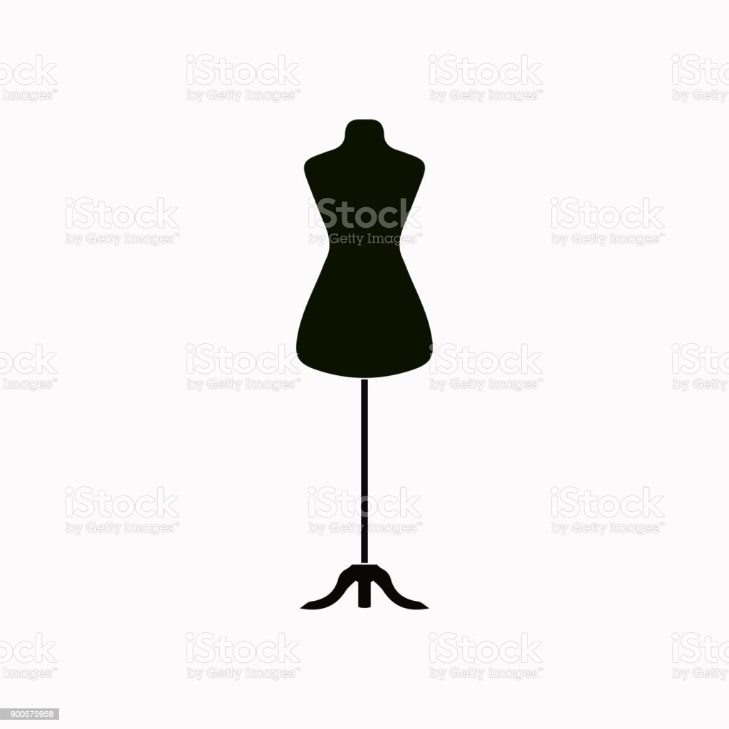 royalty free dress form clip art vector images illustrations istock rh istockphoto com Dress Form Drawing Dress Form Illustration