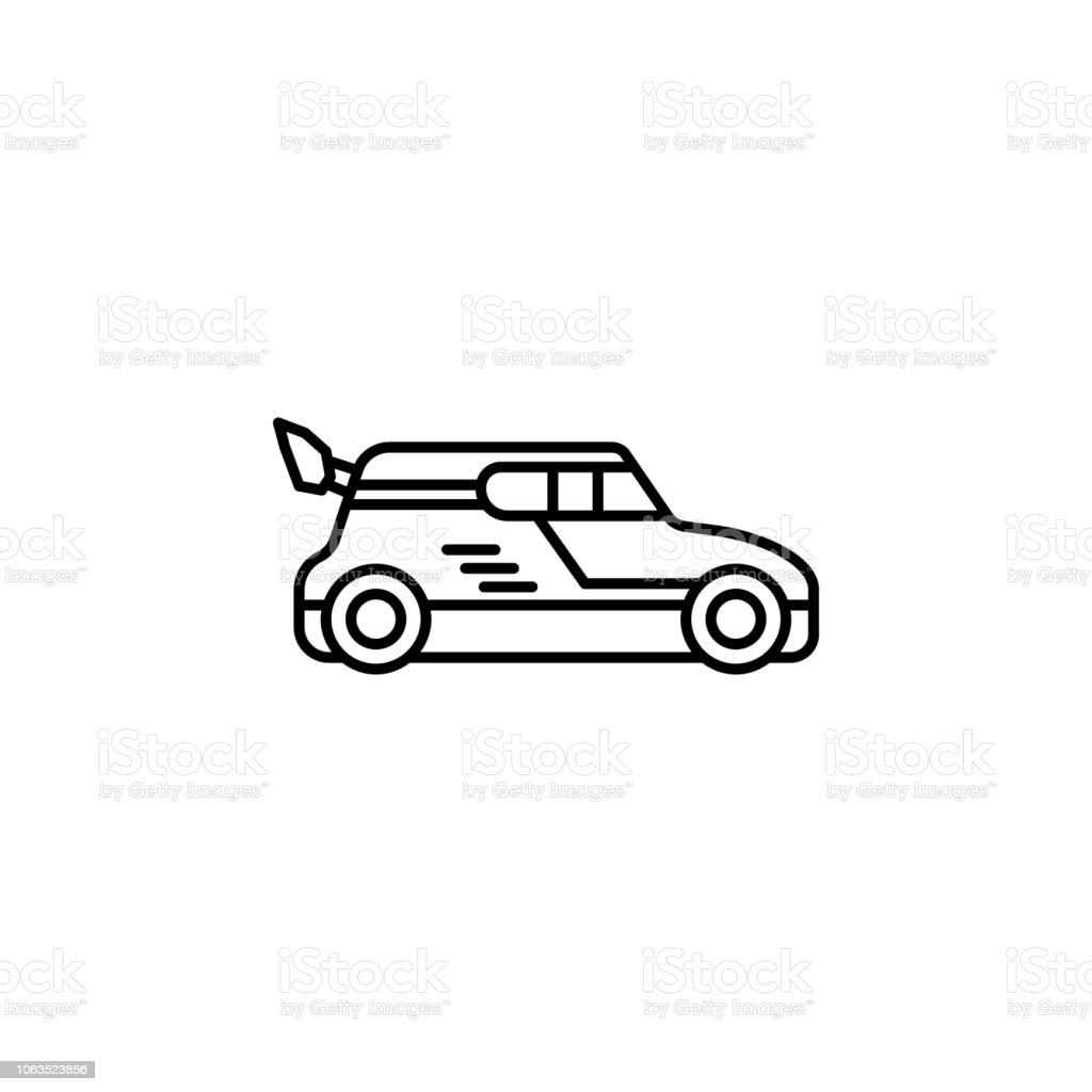 Drift Car Icon Element Of Motor Sport Icon For Mobile Concept And