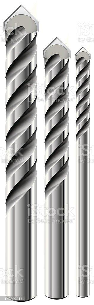 drill royalty-free stock vector art