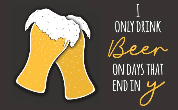Top Funny Drinking Quotes Clip Art, Vector Graphics and ...