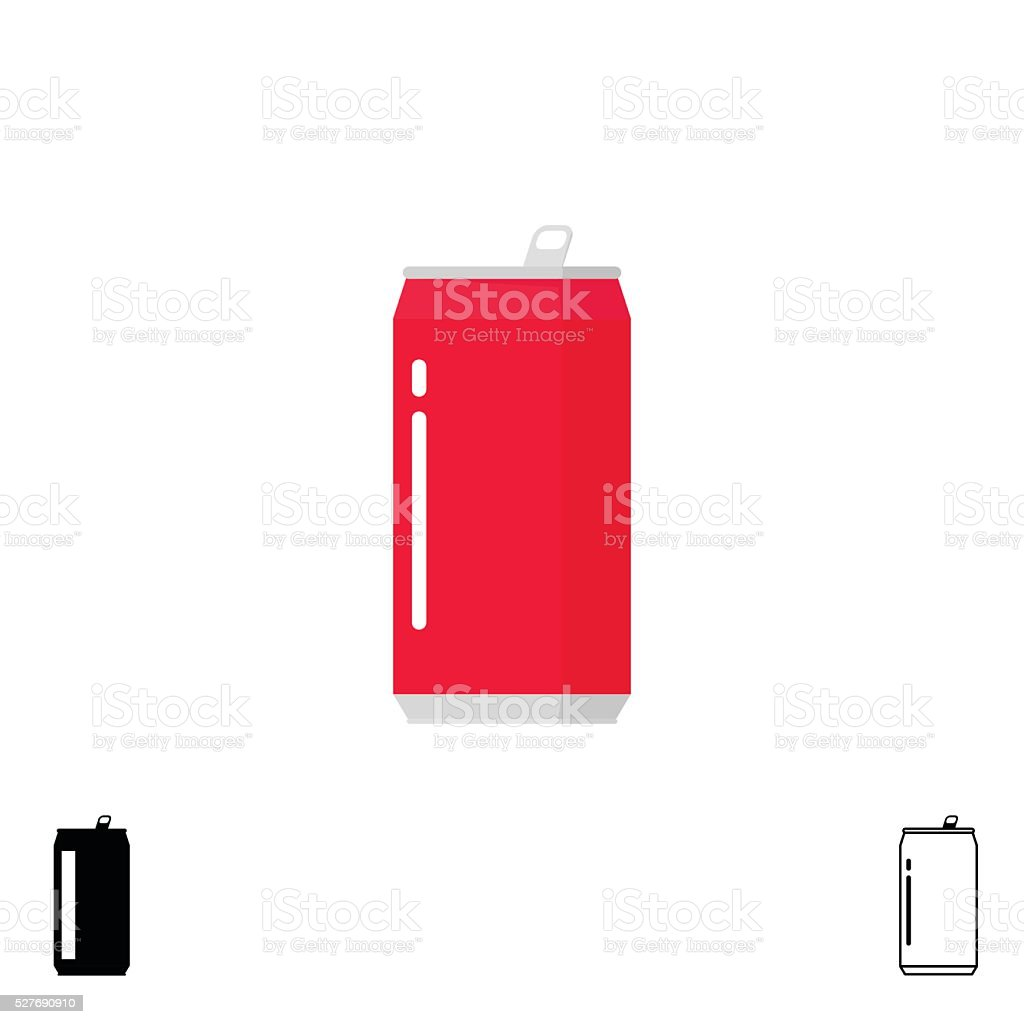 royalty free soda can clip art vector images illustrations istock rh istockphoto com soda can drawing vector Soda Can Silhouette