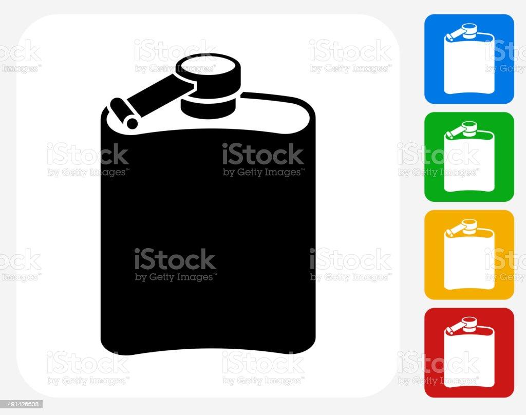 Drink Icon Flat Graphic Design vector art illustration