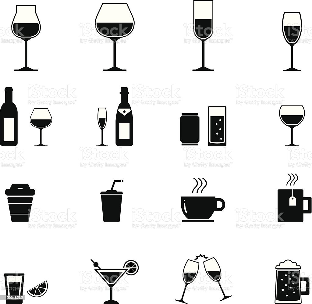 Drink Icon royalty-free stock vector art