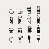 16 Drink icons