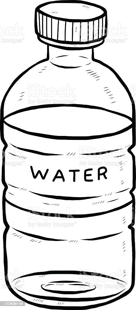Drink Water Bottle Stock Vector Art & More Images of 2015 ...