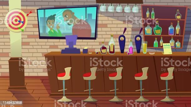Drinking establishment interior of pub cafe bar vector id1149432858?b=1&k=6&m=1149432858&s=612x612&h=hioyurevx0rdcguy2ys3ckagd0ossgqfwjxvysrxzm4=