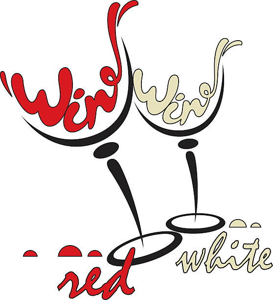 Royalty Free Wine Glasses Cheers Clip Art, Vector Images ...