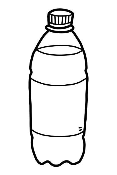 Top 60 Drawing Of Plastic Bottles Clip Art, Vector ...