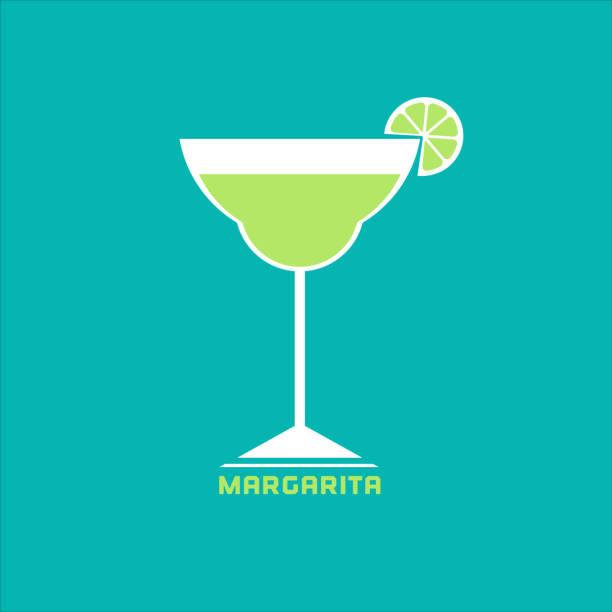 ilustraciones, imágenes clip art, dibujos animados e iconos de stock de concepto de bebidas y cócteles - margarita