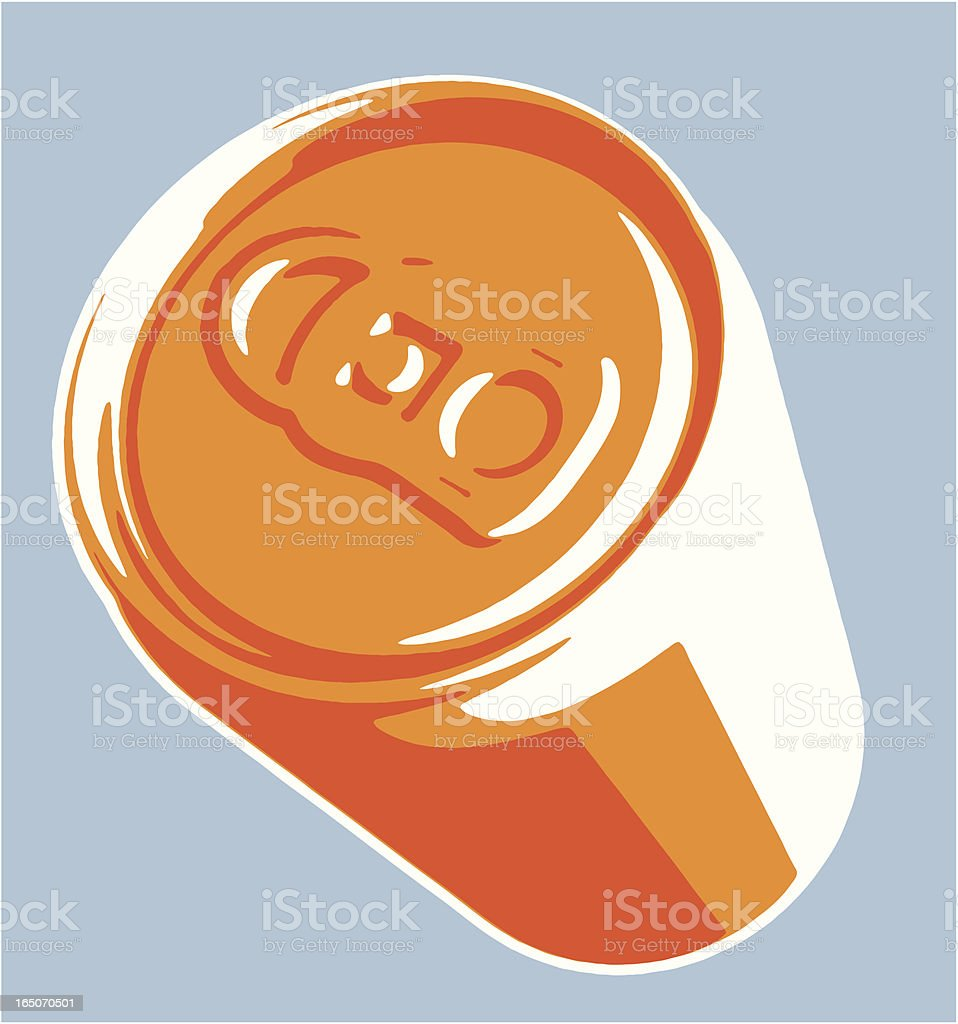 Drinks Can vector art illustration