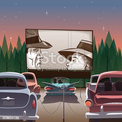 istock Drive-in theater 528634139
