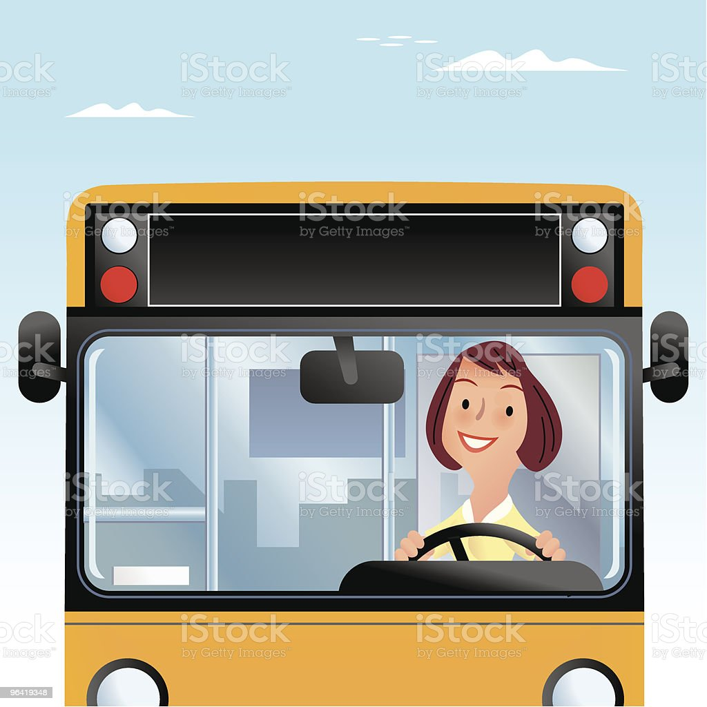 Driving Ambition royalty-free stock vector art